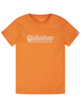 Quiksilver Quiksilver Marškinėliai New Slang EQBZT04143 Oranžinė Regular Fit