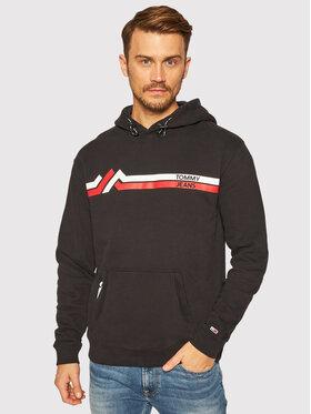 Tommy Jeans Tommy Jeans Sweatshirt Stripe Mountain DM0DM09505 Noir Regular Fit