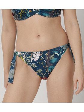 Triumph Triumph Bikini pezzo sotto Botanical Leaf 10207924 Blu scuro