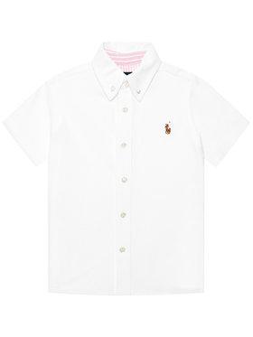 Polo Ralph Lauren Polo Ralph Lauren Polo marškinėliai Ss Bd 322834893001 Balta Regular Fit