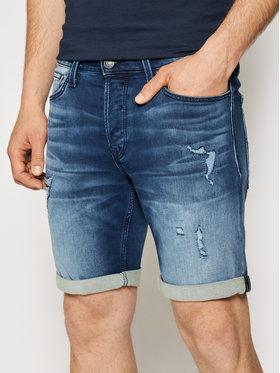 Jack&Jones Jack&Jones Pantaloncini di jeans Rick 12166270 Blu scuro Regular Fit
