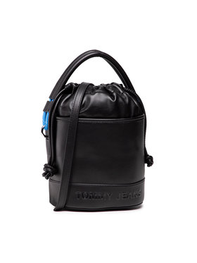 Tommy Jeans Tommy Jeans Handtasche Tjw Femme Bucket Bag AW0AW10230 Schwarz