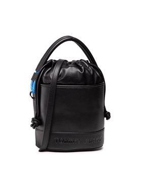 Tommy Jeans Tommy Jeans Táska Tjw Femme Bucket Bag AW0AW10230 Fekete