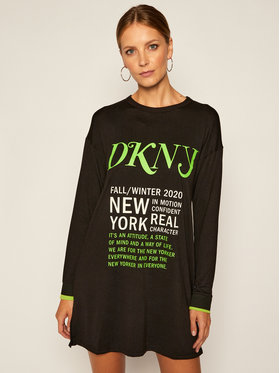 DKNY DKNY Bluza YI2322414 Czarny Regular Fit