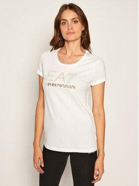 EA7 Emporio Armani EA7 Emporio Armani T-shirt 6HTT26 TJ12Z 1100 Bianco Regular Fit