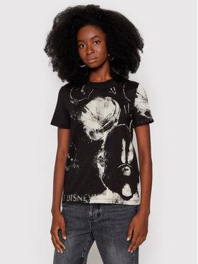 Desigual Desigual T-shirt DISNEY Mickey 21WWTKB3 Crna Regular Fit