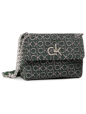 Calvin Klein Calvin Klein Geantă Re-Lock J Conv Crossboy Md K60K6067820 Verde