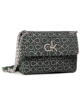 Calvin Klein Calvin Klein Torebka Re-Lock J Conv Crossboy Md K60K6067820 Zielony