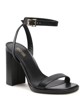 MICHAEL Michael Kors MICHAEL Michael Kors Szandál Angela Ankle Strap 40S1ANHS3L Fekete