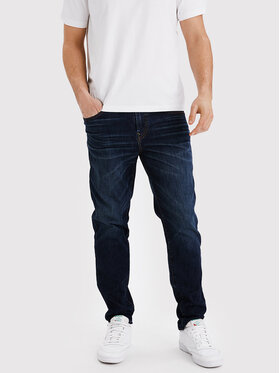American Eagle American Eagle Jeansy 011-0118-5312 Granatowy Athletic Fit