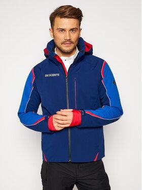 Descente Descente Μπουφάν για σκι Isak DWMQGK15 Σκούρο μπλε Tailored Fit