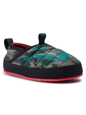 The North Face The North Face Bačkory Youth Thermoball Traction Mule II NF0A39UXUG01 Zelená