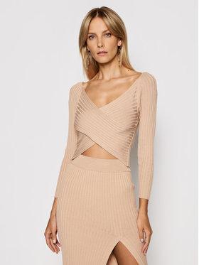 Kontatto Kontatto Sweater 3M7257 Barna Slim Fit