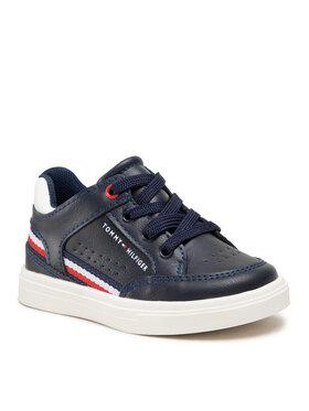 Tommy Hilfiger Tommy Hilfiger Sneakersy Mid Cut Lace-Up Sneaker T1B4-32043-0621 M Granatowy