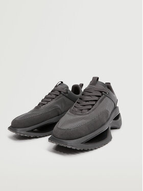 Mango Mango Sneakersy Iconic 17094031 Szary