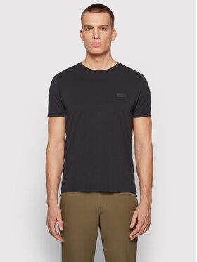 Boss Boss T-shirt Teelux 50448694 Crna Slim Fit