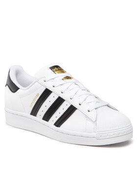 adidas adidas Обувки Superstar J FU7712 Бял