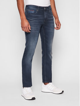 Tommy Jeans Tommy Jeans Jeansy Scanton DM0DM09852 Granatowy Slim Fit