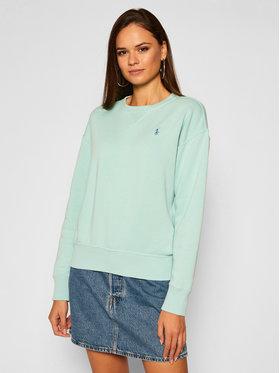 Polo Ralph Lauren Polo Ralph Lauren Sweatshirt Lsl 211794395009 Vert Regular Fit