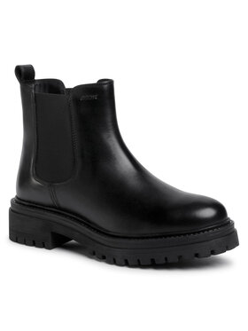 Geox Geox Outdoorová obuv D Iridea B D04HRB 00043 C9999 Čierna