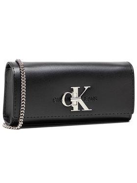 Calvin Klein Jeans Calvin Klein Jeans Sac à main Clutch W/Chain K60K607484 Noir