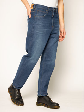 Lee Lee Tapered Fit Jeans Grazer L73OGAZT Dunkelblau Tapered Fit