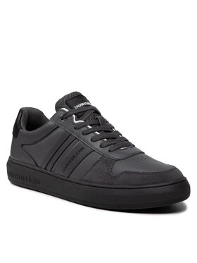 Calvin Klein Jeans Calvin Klein Jeans Sneakersy Cupsole Laceup Casual YM0YM00282 Šedá