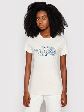 The North Face The North Face T-shirt Easy NF0A4T1Q0 Bež Regular Fit