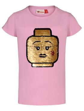 LEGO Wear LEGO Wear Marškinėliai 308 22337 Rožinė Regular Fit
