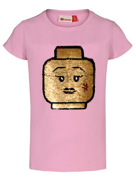 LEGO Wear LEGO Wear T-Shirt 308 22337 Różowy Regular Fit