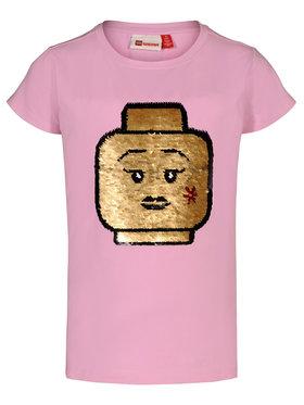 LEGO Wear LEGO Wear Тишърт 308 22337 Розов Regular Fit