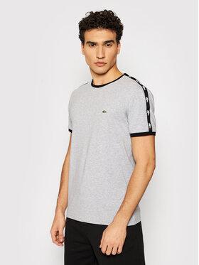 Lacoste Lacoste Marškinėliai TH0146 Pilka Regular Fit