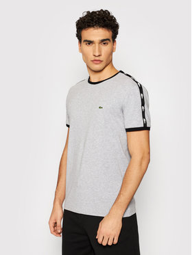 Lacoste Lacoste T-shirt TH0146 Siva Regular Fit