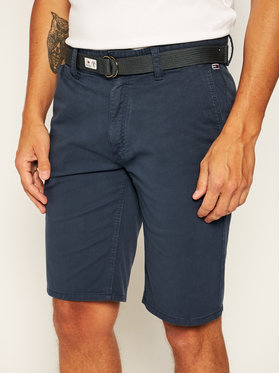 Tommy Jeans Tommy Jeans Stoffshorts Tjm Vintage Wash DM0DM07932 Dunkelblau Regular Fit