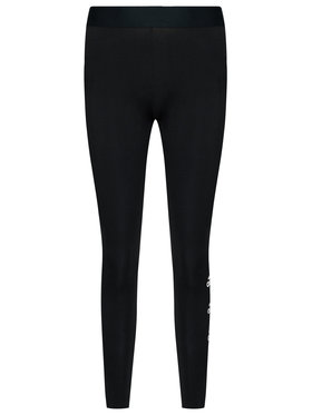 adidas adidas Клинове W Stacked FI4632 Черен Slim Fit
