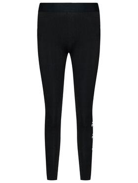 adidas adidas Leggings W Stacked FI4632 Fekete Slim Fit