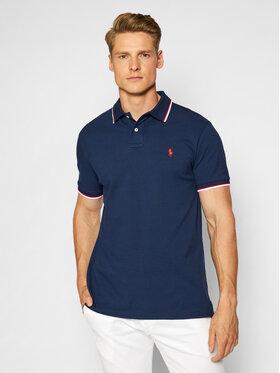 Polo Ralph Lauren Polo Ralph Lauren Тениска с яка и копчета Classics 710842621003 Тъмносин Slim Fit
