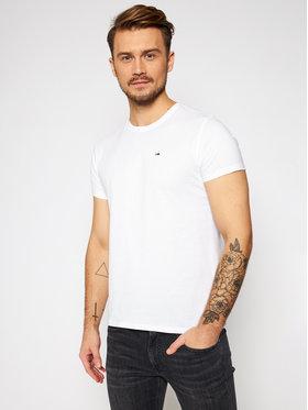 Tommy Jeans Tommy Jeans T-shirt DM0DM04411 Blanc Regular Fit