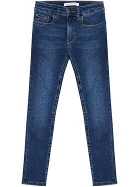 Calvin Klein Jeans Calvin Klein Jeans Džinsai Essential IB0IB00767 Tamsiai mėlyna Skinny Fit