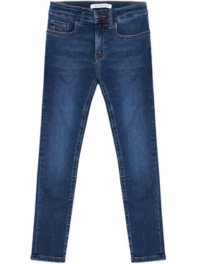 Calvin Klein Jeans Calvin Klein Jeans Jean Essential IB0IB00767 Bleu marine Skinny Fit