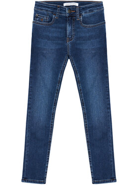 Calvin Klein Jeans Calvin Klein Jeans Τζιν Essential IB0IB00767 Σκούρο μπλε Skinny Fit