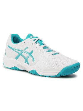 Asics Asics Обувки Gel-Resolution 8 Gs 1044A018 Бял