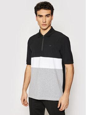 Lacoste Lacoste Тениска с яка и копчета PH0104 Черен Relaxed Fit