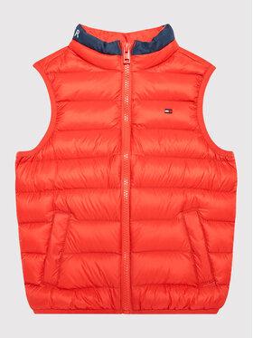 Tommy Hilfiger Tommy Hilfiger Weste Light Down KS0KS00170 M Orange Regular Fit