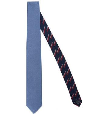 Tommy Hilfiger Tailored Tommy Hilfiger Tailored Cravată Solid Ribbed TT0TT07682 Albastru