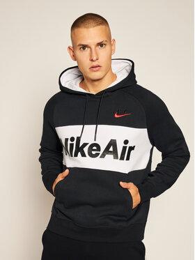 NIKE NIKE Sweatshirt Air CJ4824 Schwarz Standard Fit