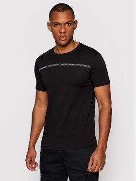 Armani Exchange Armani Exchange T-shirt 8NZT93 Z8H4Z 1200 Crna Slim Fit