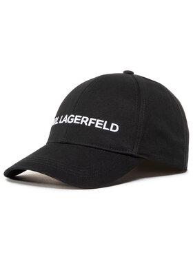 KARL LAGERFELD KARL LAGERFELD Czapka z daszkiem 205W3413 Czarny