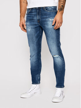 Calvin Klein Jeans Calvin Klein Jeans Дънки J30J319115 Тъмносин Slim Fit