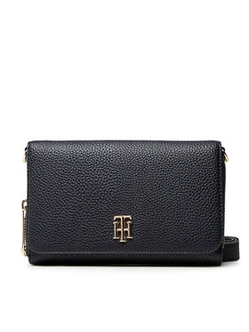 Tommy Hilfiger Tommy Hilfiger Sac à main Th Soft Small Crossover AW0AWI0124 Noir